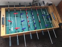 Foosball/Soccer table with two balls in Ramstein, Germany