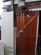 Brass Standing Lamp with Reading Arm Lamp in Lakenheath, UK
