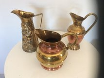 3 BRASS SHABBY CHIC JUGS in Lakenheath, UK
