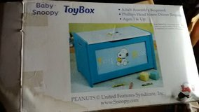 Child's first toybox in Fort Meade, Maryland