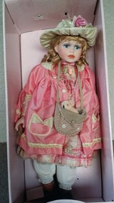 "Genuine Porcelain 28"" Collectible Doll in Fort Riley, Kansas"