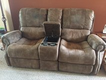 Couch with Electric Recliners in Alamogordo, New Mexico