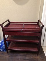 Changing table-cherry oak in Fort Hood, Texas