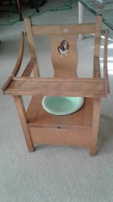 Childs Wood Potty Chair in Orland Park, Illinois