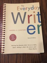 The Everyday Writer by Andrea A. Lunsford 2nd edition in Plainfield, Illinois