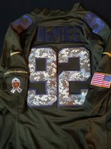Authentic Pernell McPhee Salute the Service jersey in Schaumburg, Illinois