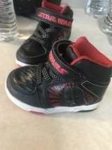 Toddler boys Star Wars shoes size 6 in New Lenox, Illinois