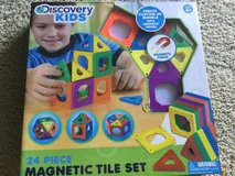 Discovery Kids Magnetic Tile Set in Cherry Point, North Carolina