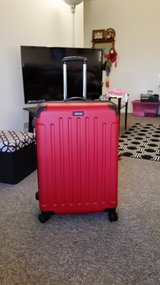"Suitcase, Hard sided 26"" RED. in Tinley Park, Illinois"