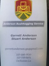 Anderson Bushhogging and Disc Service in Fort Polk, Louisiana