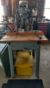 Radial arm saw in Beaufort, South Carolina