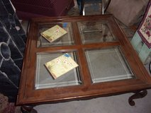 Large Victorian Glass Top Coffee Table in Fort Riley, Kansas