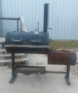 Smoker/Charcoal Grill with Texans Emblem in Cleveland, Texas