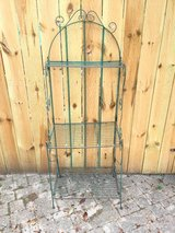 Vintage 3 tier Metal Shelf plant rack in Chicago, Illinois