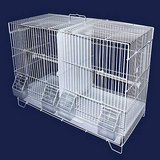 "Large White Breeding Bird Cage, 23.5"" L X 10.5"" W X 15.5"" H in Camp Pendleton, California"