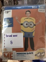 Minions costume NEW in package in Vicenza, Italy