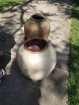 2ft Tall Large Heavy Cement Potting Planter Pots in Naperville, Illinois