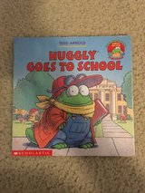 Huggly Goes To School book in Camp Lejeune, North Carolina