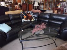 Black Two Piece Sectional in Fort Riley, Kansas