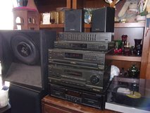 Nine Piece Technics Stereo System in Fort Riley, Kansas
