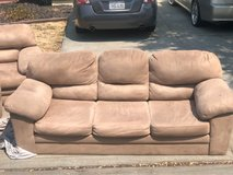 Couch for 3 (part of 3 pc set) in Fairfield, California