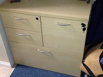 Office Furniture/Laminate: Cherryman Amber Collection Personal Storage Unit in Camp Pendleton, California