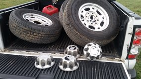 Factory rims with tires in Clarksville, Tennessee