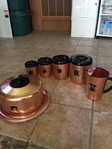 Vintage west bend copper aluminum set in Fort Polk, Louisiana