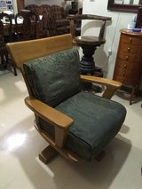 Solid Wood Swivel Chair in Okinawa, Japan