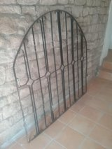 Antique Wrought Iron Gate in Ramstein, Germany