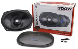 """Rockville RVL69W 6x9 """"300w Competition Cast Aluminum Car Subwoofer in Ramstein, Germany"""
