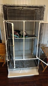 Large cage for sugar gliders or other animals in Fort Polk, Louisiana