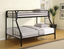 NEW TWIN OR TWIN FULL BUNK BED WITH MATTRESS AND FREE DELIVERY in Riverside, California
