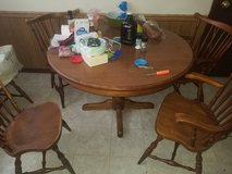 Table with 5 chairs in DeKalb, Illinois