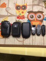 3 Flip Phone Cases & 3 Belt Clips in DeRidder, Louisiana