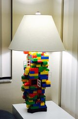 one of a kind LEGO Lamp in Ramstein, Germany