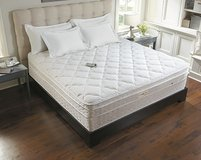 7000 SLEEP NUMBER MATTRESS SET (QUEEN SIZE) NOT ADJUSTABLE in Camp Lejeune, North Carolina