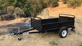 Utility Trailer - Manual Dump (4.5 x 7) in Vacaville, California
