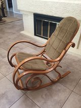 Rocking chair in Phoenix, Arizona