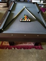 7ft Sportcraft Pool Table w/Table Tennis top in Camp Lejeune, North Carolina