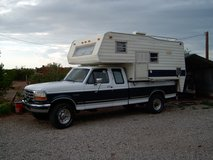 HUNTERS SPECIAL...1996 F-250 4X4 WITH CAMPER in Alamogordo, New Mexico