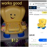 Fisher Price Laugh & Learn chair in Travis AFB, California