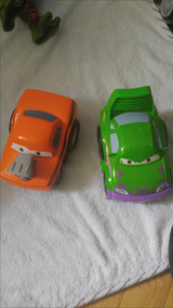 Disney shake and go cars set in Quantico, Virginia