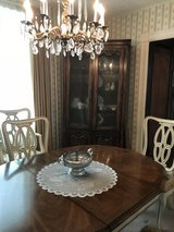 Beautiful french provincial dining room set in Oswego, New York