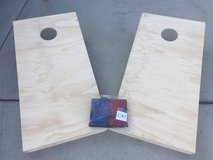 Cornhole Boards with bags in Camp Pendleton, California