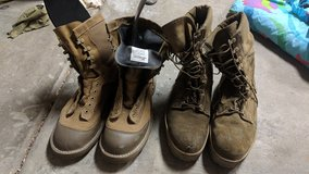 Boots in Camp Pendleton, California