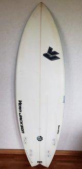 VJ EPS Epoxy surfboard quad in Okinawa, Japan