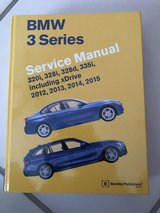 BMW 3 series F30/32 Factory Service Manual NEW! in Ramstein, Germany