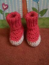 Knitted/Crochet baby booties in Fort Hood, Texas