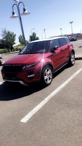 .2012 Range Rover Evoque in Spangdahlem, Germany